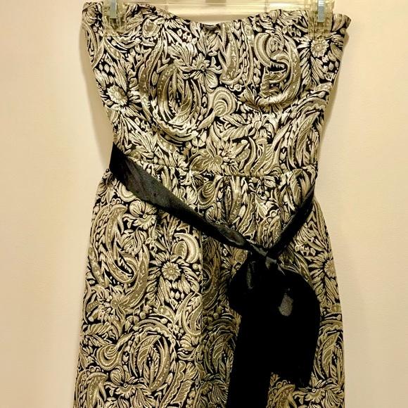 Dresses & Skirts - Metallic Gold Cocktail Dress